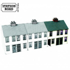 SR105 - 4Ground Building Kits - Alnwick Walk Houses with Ginnel