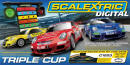 Scalextric - Digital Triple Cup Race Set - C1223
