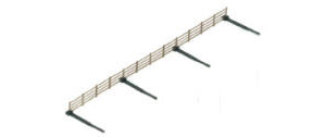 Hornby Lineside Fencing - R537