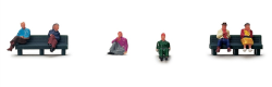 Hornby Sitting People - R561
