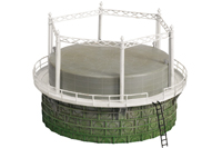 Hornby Model Railway Skaledale - Gas Works Gasholder - R8737