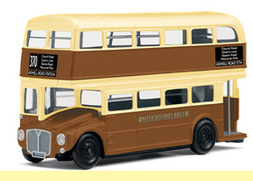 Model Railway Shop - Hornby Skaleautos - United District Bus Co. - Routemaster Bus R7035