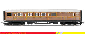 Hornby Model Railway RailRoad Range - LNER Teak Brake Coach - R4333