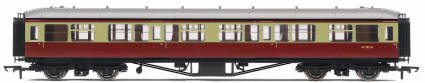 Hornby Model Railway Trains - R4405 BR Hawksworth (Pre 1953) Corridor 3rd Class Coach