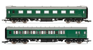 Hornby BR Green Pull Push Pack - R4534A / R4534B / R4534C