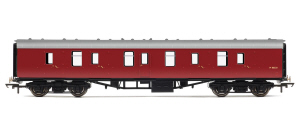 Hornby BR Mk1 Parcels Coach (Maroon) - R4619 / R4619A
