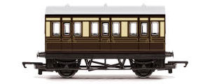 Hornby RailRoad GWR 4 Wheel Coach - R4673