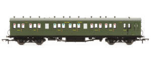 Hornby - SR, 58' Maunsell Rebuilt (Ex-LSWR 48'), Six Compartment Brake Composite, 6401 'Set 42' - Era 3 - R4719A