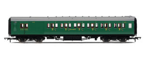 Hornby SR Maunsell 6 Compartment Third Class Brake Coach - R4736