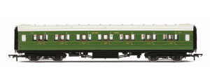 R4770 - Hornby SR Maunsell Corridor First Class �7412�, Olive