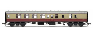 R4814 - Hornby RailRoad BR Mk1 Corridor Brake Second Coach 'E34734', BR Crimson & Cream