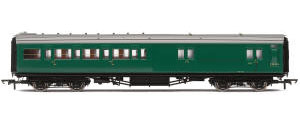 Hornby BR, Maunsell Corridor Four Compartment Brake Second, S3233S 'Set 399' - Era 5 - R4841