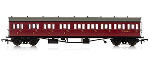 R4878 / R4878A - Hornby BR, Collett 57' Bow Ended E131 Nine Compartment Composite (Left Hand), W6630W - Era 4