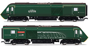 R3696 - Hornby GWR, Class 43 HST, Power Cars 43093 'Old Oak Common - HST Depot 1976-2018' and 43016 - Era 11