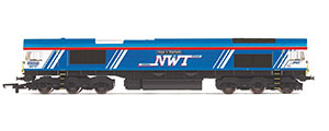 R3940 - Hornby GBRf / Newell & Wright, Class 66, Co-Co, 66747 'Made in Sheffield' - Era 11