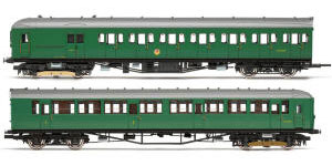 R3699 - Hornby BR, 2-HIL, Unit 2611; (HAL) DMBT No. 10729 and (BIL) DTC(L) No. 12146 - Era 5