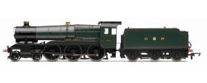 Hornby Model Railway Trains - R2937 GWR 'County of Cornwall' County Class Locomotive