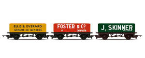 Hornby Triple Open Wagon Pack - R6784