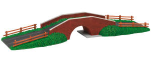 Hornby Model Railway Skaledale Canal Collection - Canal Bridge - R8569