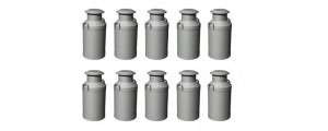 Hornby Model Railway Scenery - Milk Churns R8678