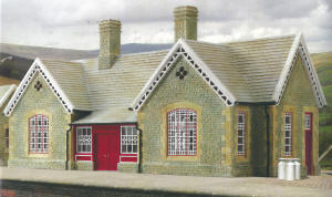 Hornby Skaledale Buildings - Dent Station - R9680