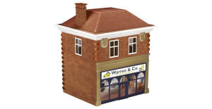 Hornby Skaledale 'Warren & Co.' Estate Agents - R9765