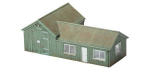 Hornby Skaledale Corrugated Iron Workshop - R9810