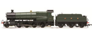 "Hornby ""2807"" locomotive in GWR livery (Preserved) - R3106"