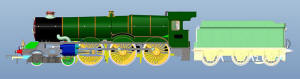 Hornby Hornby BR 4-6-0 �King Richard II� 6000 Class, BR (Early) with TTS Sound - R3370