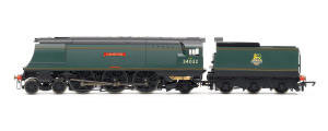 Hornby BR 4-6-2 'Camelford' '34032' West Country Class - BR Early - Air Smoothed - R3445