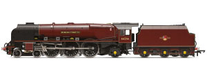 Hornby BR 4-6-2 'Sir William A. Stanier F.R.S.' Princess Coronation Class (Modified) Late BR Red - R3555