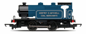R3584 - Hornby Railroad Ex-Industrial 0-4-0 'Godfrey & Mitchell Coal Merchants' 'No.9'