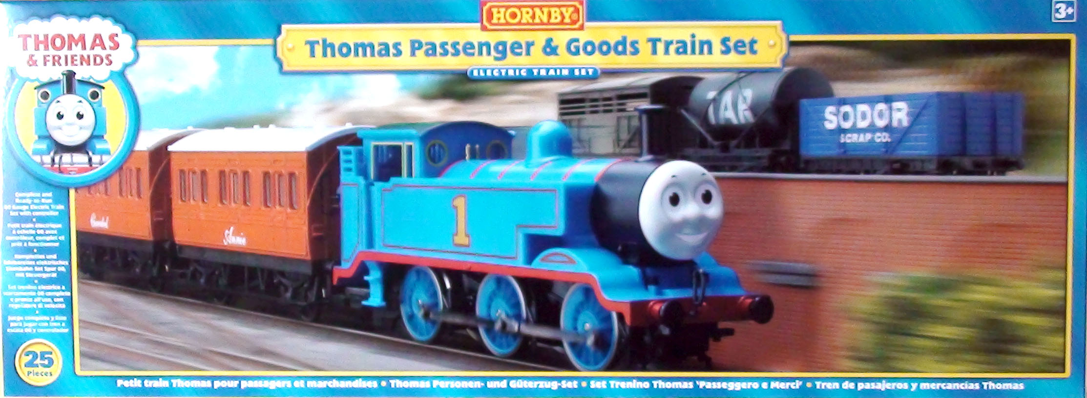 Image result for hornby thomas passenger and goods train set