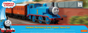 Model Railway Shop - Hornby Thomas and Friends Passenger and Goods Train Set - R9285