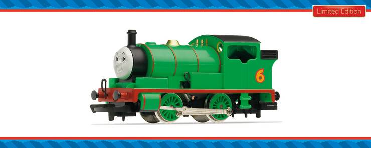Discontinued R9686 Thomas The Tank Engine Percy The Saddler Tank