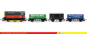 Hornby Model Railway RailRoad Range - BR Diesel Freight Train Pack - R2669