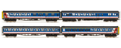 Hornby Model Railway Trains - R2947 R2947X NSE Class 423 VEP 4 Car Unit