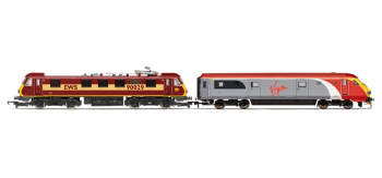 Hornby Model Railway Trains - R2955 Virgin Charter Relief Train Pack Class 90 and DVT Train Pack