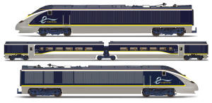 Hornby Eurostar Class 373 2013 4 Car Train Pack  - R3215