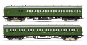 Hornby SR 2-HAL 2 Car Electric Multiple Unit Train Pack - R3260
