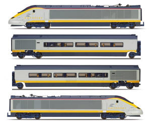 Hornby Eurostar Class 373 Train Pack - R3293