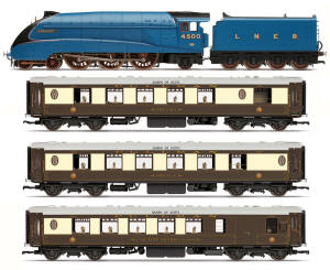 Hornby LNER Queen of Scots Train Pack - Limited Edition - R3402