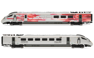 Hornby Hitachi IEP Bi-Mode Class 800/0 DPTS & DPTF Test Train Power Units Train Pack - Limited Edition - R3579