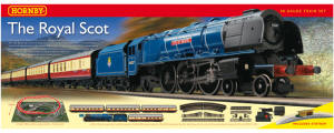 "Hornby Model Railway Train Sets - Hornby ""The Royal Scot"" Train Set - R1094"