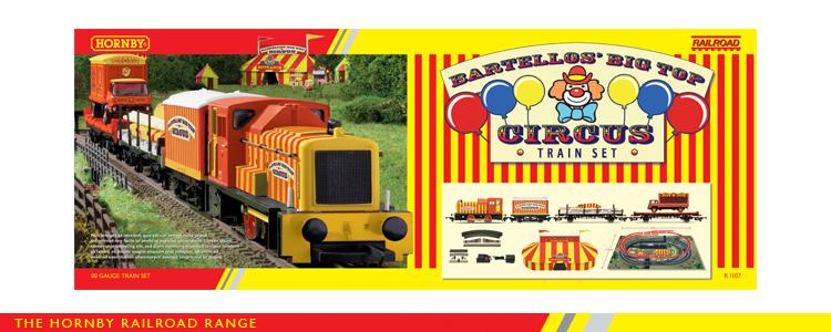 R1107 Hornby Bartello S Big Circus Train Set New