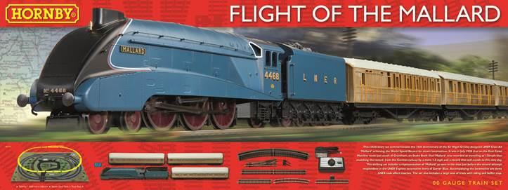 Hornby Train Sets - Train Set Accessories - Building and ... Mallard Train Toy