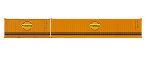 R60001 - Hornby Freightliner, Container Pack, 1 x 40' and 1 x 20' Containers - Era 11