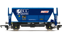Hornby Wagons - Procor Hopper (ECC Quarries)  x3 R332A