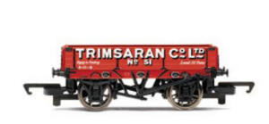 Hornby Model Railway - Three Plank Wagon Trimsaran Co Ltd - R6337