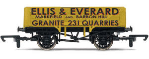 Model Railway Wagon - Ellis and Everard Five Plank Open Wagon - R6442